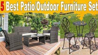 5 Best patio furniture to buy | Best outdoor furniture