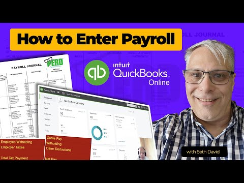 How to Enter Payroll with QuickBooks Online