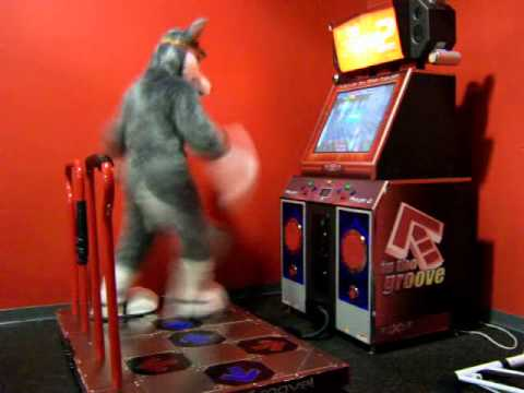 A Dude In A Fursuit. Dancing. For Charity.