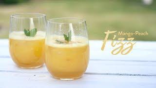 Här kommer ett drinktips från Riedel Härligt somrig med mango och persika