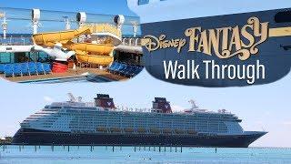 Disney Fantasy Walk Through October 2017