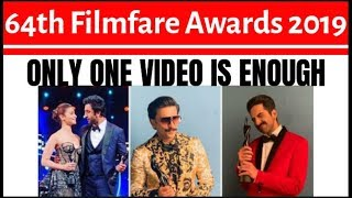 64 filmfare awards 2019 watch online - Kênh video giải trí