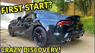 Rebuilding A Wrecked 2020 Toyota Supra Part 2