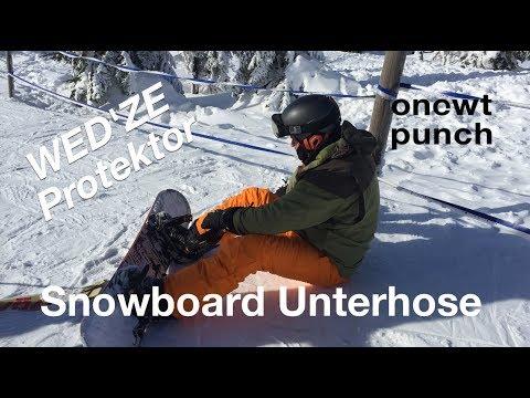 Unterhose Protektor für Snowboard aus Decathlon meine Erfahrung und Schmerzen mit den Hosen :)