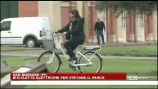 preview picture of video 'Inaugurazione del servizio di bike sharing a San Rossore - 6.4.2014'