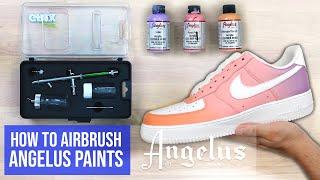 Airbrush Essentials - The Basics To Airbrushing Using Angelus Paints