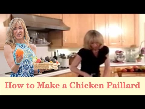 Make a Chicken Paillard