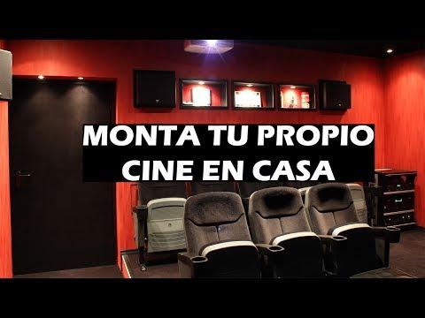 Consejos para montar tu propio cine en casa de calidad