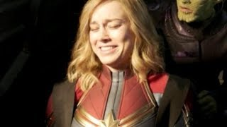 Captain Marvel Bloopers That'll Make You Love The Cast