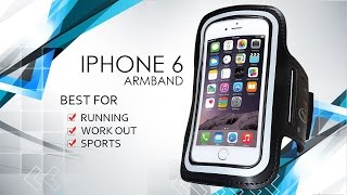 iPhone 6 Red Star Tec Running Armband Promo