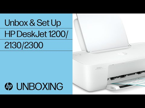 Unpacking the HP DeskJet 1200, 2130, Ink Advantage 1200, 2300 All-in-One Printer Series