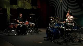 Cobus - Angels & Airwaves - Heaven (Drum Duet Cover with Atom Willard)