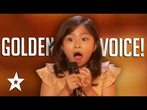 Download 9 YEAR OLD Celine Tam GOLDEN BUZZER Audition On America's Got Talent 2017 | Got Talent Global HD Mp4 3GP Video and MP3