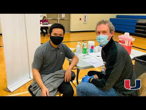 UCSD 2nd MercyOne On-Site COVID-19 Vaccination Clinic 3.06.21