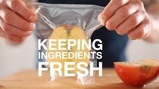 Why Package food • Keeping Ingredients Fresh • ChefSteps