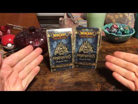 World of Warcraft TCG: Naxxramas Treasure Packs!