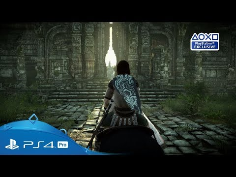 Shadow of the Colossus | PGW 2017 Trailer | PS4