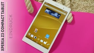 Sony Xperia Z3 Tablet Compact - Unboxing und Eindruck!