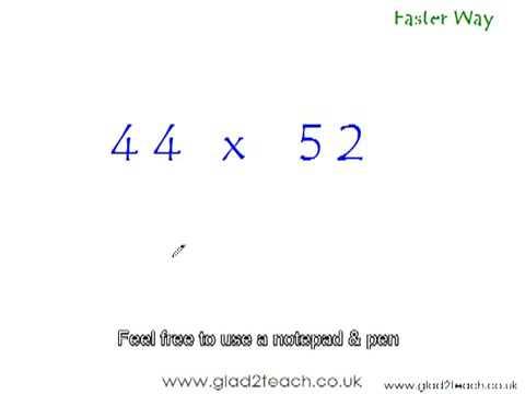Video Cara Cepat Mudah Matematika menghitung perkalian