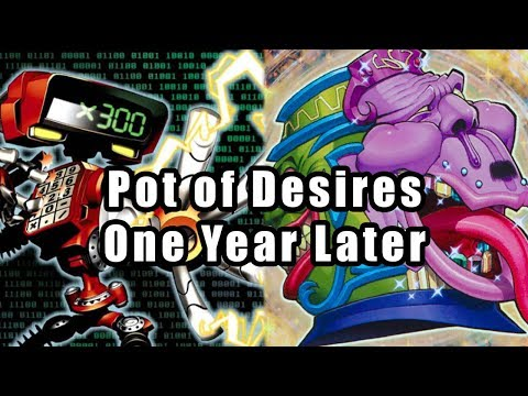 Pot of Desires: One Year Later