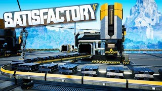 Steel Production Is Starting To Get Complicated in Satisfactory