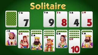 Solitaire-online: Klondike gameplay