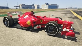 GTA 5 Mod Siêu Xe #4 - Siêu Xe Đua Ferrari F1 trong GTA 5