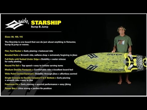 2016 Naish Starship | Bump and Jump Windsurf Sail