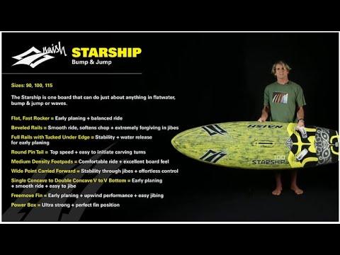 2016 Naish Starship | Bump and Jump Windsurf Sail
