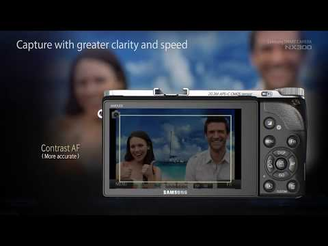 Samsung SMART CAMERA NX300 Demo & Features