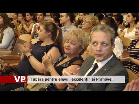 """Tabără pentru elevii """"excelenți"""" ai Prahovei"""