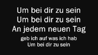 Christina Stürmer - Um Bei Dir Zu Sein (Lyrics & English Translation)