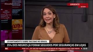 ESTÚDIO I - Pesquisa revela percepção sobre racismo e desigualdade racial no Brasil