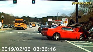 Absurd Car Crash Compilation - Horrible Driving Fails Of 2019 (Part 15)