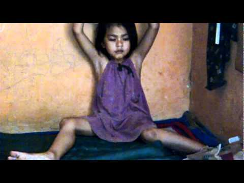 Cute Little Girl Playing  at Home 3