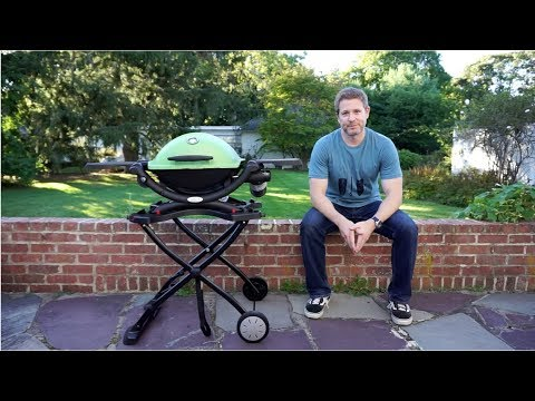 Weber Q: Portable Cart Demo and Review