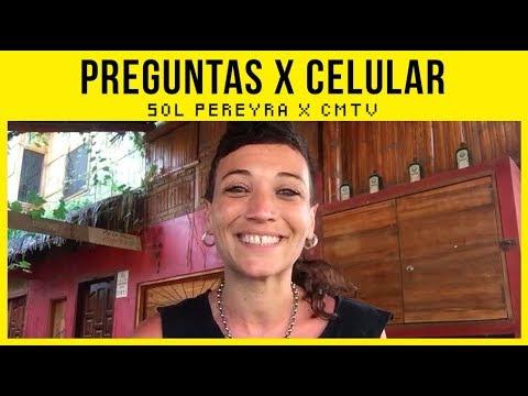 Sol Pereyra video #Preguntas x Celular - CMTV - Junio 2018