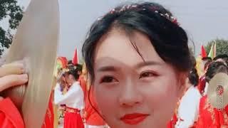广东潮汕民俗活动女孩个个比网红漂亮,中国传统文化原来没有消失