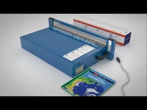 SpeedyCover: macchina automatica per foderare libri