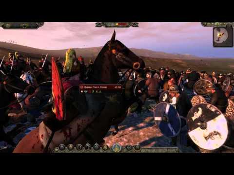 Attila Total War Битва Железные топоры Викингов Стена щитов