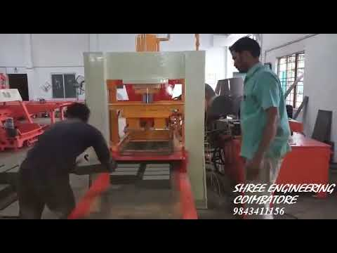 Automatic Mini Fly Ash Brick Making Machine