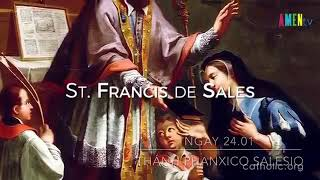 Ngày 24.01: kính thánh Phaxico Salesio