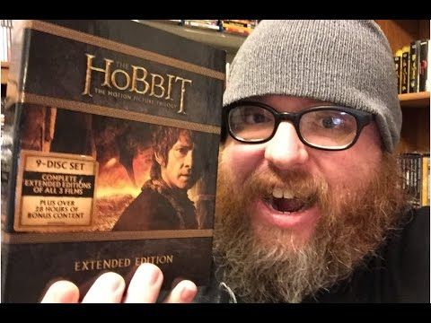The Hobbit Trilogy: Extended Editions (2012-2014) Blu-Ray Update 1/18/16