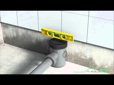 Huliot Pipes Aquaslim Shower Trap