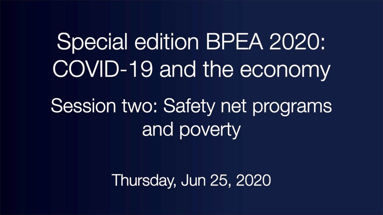 Session two: Safety net programs and poverty
