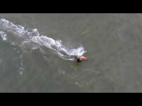 Windsurfing with the Staaker drone