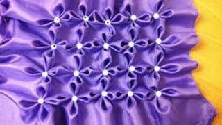 Fabric Manipulation.Canadian Smocking.