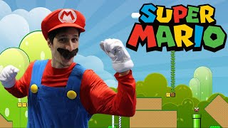 Super Mario Bros In Real Life (A day in the life of Mario)