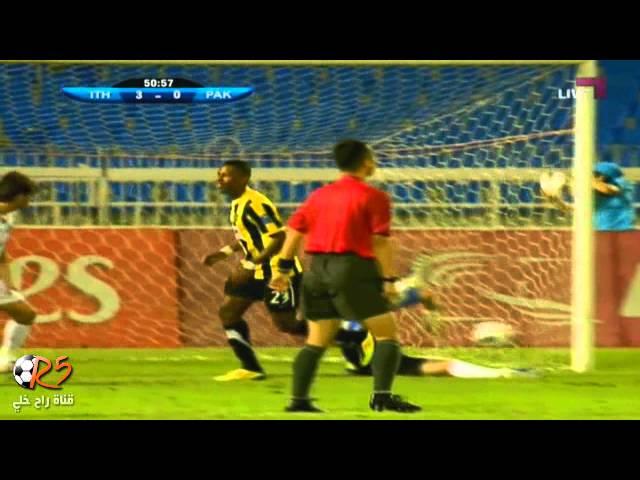 الاتحاد (4 - 0) باختكور دوري أبطال آسيا