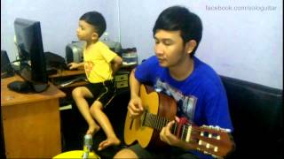 Video (Ungu) Tercipta Untukku + (adele) Someone Like You - Nathan Fingerstyle